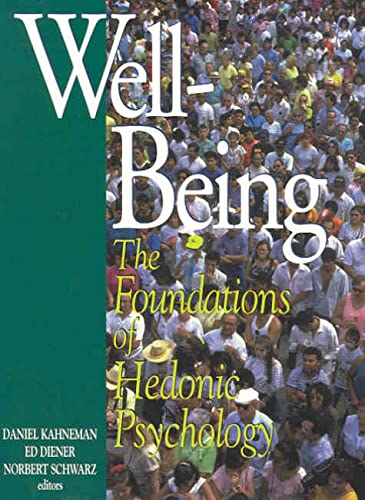 9780871544230: Well-Being: Foundations of Hedonic Psychology