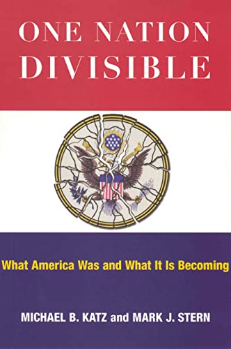 9780871544469: One Nation Divisible: What America Was and What It Is Becoming (Russell Sage Foundation Census)