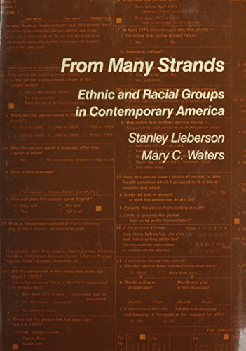 9780871545435: From Many Strands: Ethnic and Racial Groups in Contemporary America (Population of the United States in the 1980s)