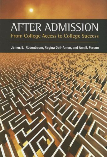 9780871547071: After Admission: From College Access to College Success