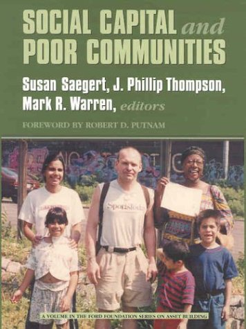 9780871547330: Social Capital and Poor Communities (Ford Foundation Series on Asset Building)