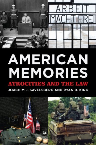 9780871547378: American Memories: Atrocities and the Law (American Sociological Association's Rose Series in Sociology)