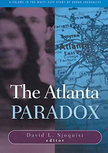 9780871548078: Atlanta Paradox (Multi-City Study of Urban Inequality)