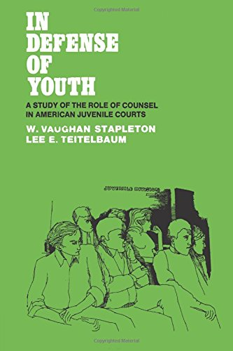9780871548337: In Defense of Youth: A Study of the Role of Counsel in American Juvenile Courts