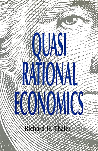 9780871548474: Quasi Rational Economics