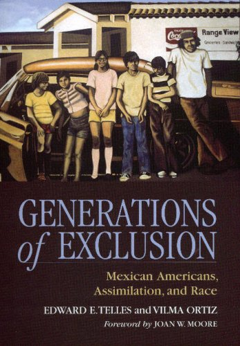 9780871548481: Generations of Exclusion: Mexican Americans Assimilation and Race