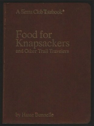 9780871560490: Food for Knapsackers