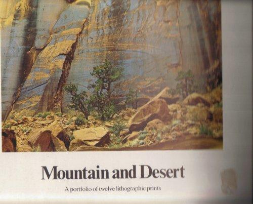 9780871560865: Mountain and Desert - A Portfolio of Twelve Lithographic Prints