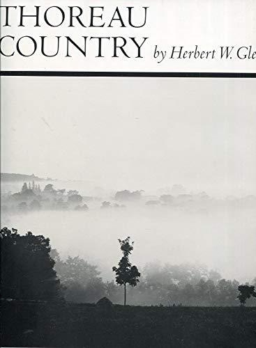 9780871561404: Thoreau Country : Photographs and Text Selections from the Works of H. D. Thoreau / by Herbert W. Gleason ; Edited by Mark Silber ; Introd. by Paul Brooks