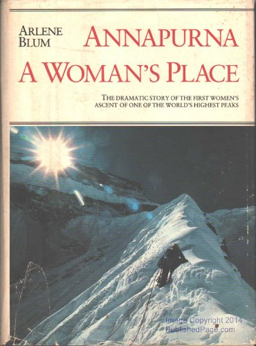 9780871562364: Annapurna: A Woman's Place