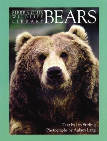 9780871564412: Bears (Sierra Club Wildlife Library)