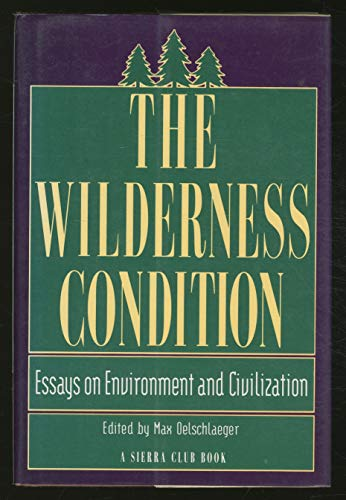 9780871566423: The Wilderness Condition: Essays on Environment and Civilization