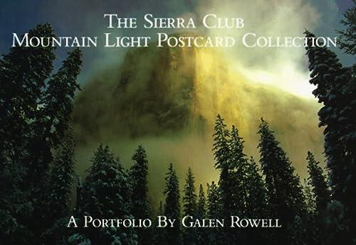 9780871567796: The Sierra Club: Mountain Light Postcard Collection: A Portfolio