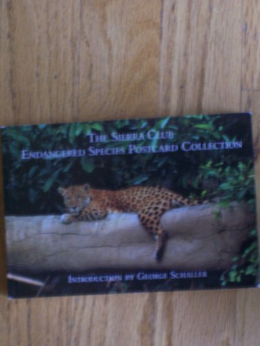 9780871567901: The Sierra Club Endangered Species Postcard Collection