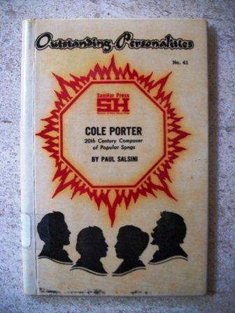 9780871570383: Cole Porter: Twentieth Century Composer of Popular Songs (OUTSTANDING PERSONALITIES SER.: NO. 41)