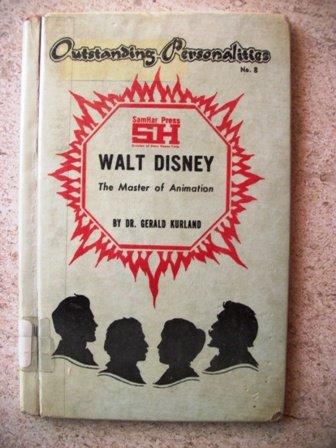 9780871575081: Walt Disney: The Master of Animation