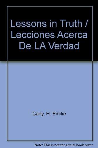 9780871590817: Lessons in Truth / Lecciones Acerca De LA Verdad