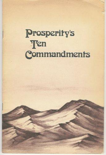 9780871591333: Prosperity's Ten Commandments