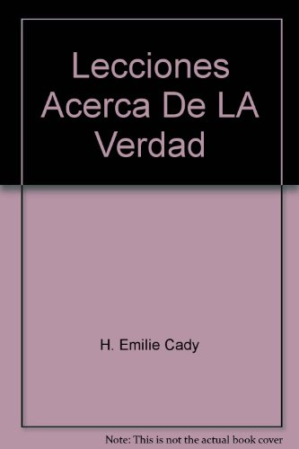 9780871598325: Lecciones Acerca De LA Verdad (Spanish Edition)