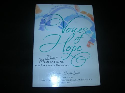 9780871626264: Voices of hope: Daily meditations for persons in recovery