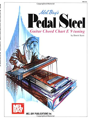 9780871663702: Mel Bay's Pedal Steel Guitar Chord Chart E 9 Tuning