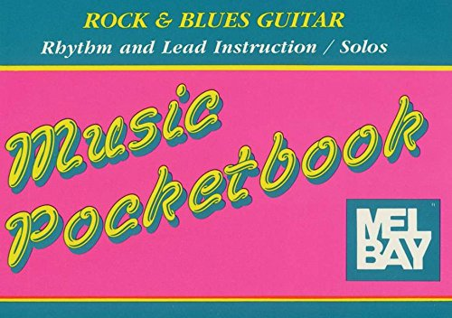 9780871665546: Rock and Blues Guitar Pocketbook