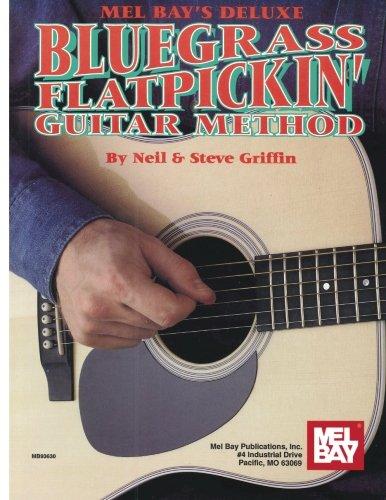 9780871666741: Deluxe Bluegrass Flatpickin' Guitar Method