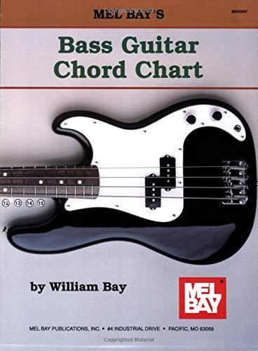 9780871667786: Mel Bay Bass Guitar Chord Chart