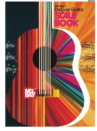 9780871669186: Mel Bay Deluxe Guitar Scale Book