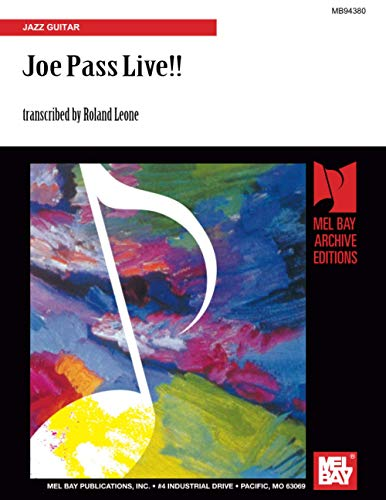 Joe Pass Live!!: Jazz Guitar: Leone, Roland