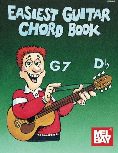 9780871669841: Mel Bay Easiest Guitar Chord Book