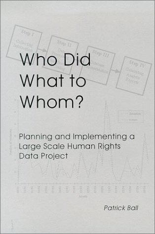 9780871685964: Who Did What to Whom? Planning and Implementing a Large Scale Human Rights Project