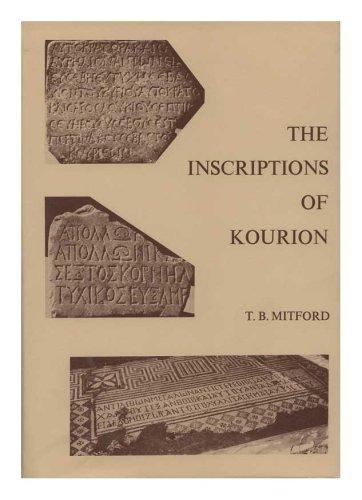 9780871690838: Inscriptions of Kourion