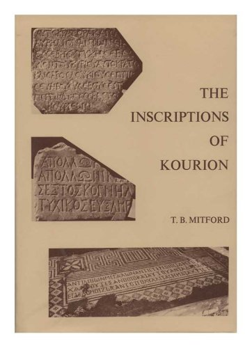 The Inscriptions of Kourion