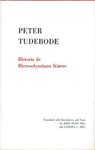 9780871691019: Historia de Hierosolymitano itinere (Memoirs of the American Philosophical Society, v. 101)
