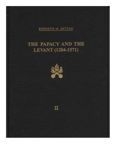 9780871691279: Papacy and the Levant, 1204-1571