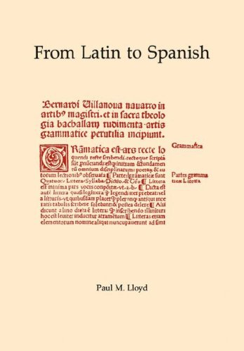 9780871691736: 1: From Latin to Spanish (Memoirs of the American Philosophical Society)