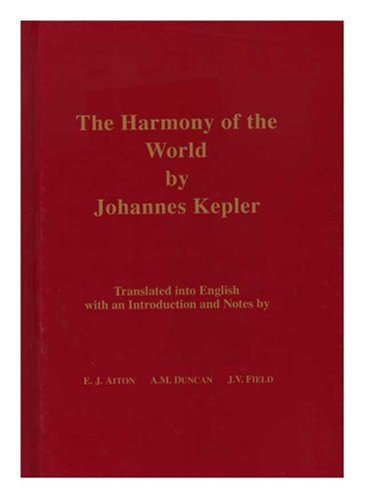 9780871692092: The Harmony of the World (Memoirs of the American Philosophical Society)
