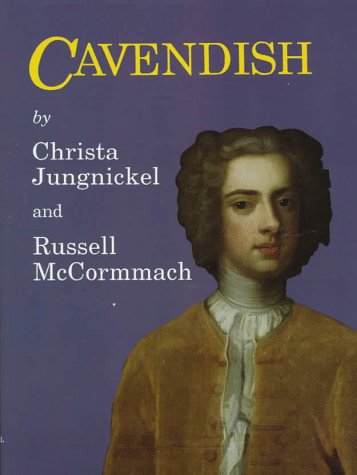Cavendish (Memoirs of the American Philosophical Society): Jungnickel, Christa, McCormmach,