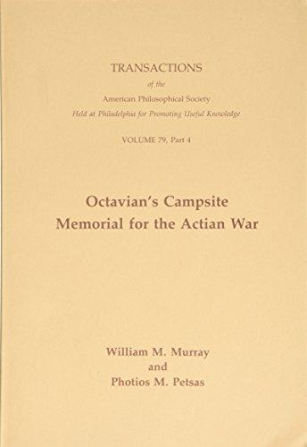 9780871697943: Octavian's Campsite Memorial for the Actian War