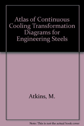 9780871700933: Atlas of Continuous Cooling Transformation Diagrams for Engineering Steels