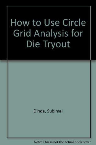 9780871701190: How to Use Circle Grid Analysis for Die Tryout