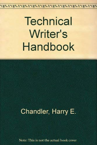 9780871701510: Technical Writer's Handbook
