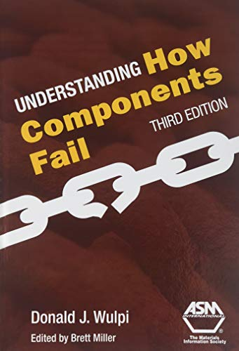 Understanding How Components Fail 9780871701893 Understanding How Components Fail, 2nd Ed If you are involved in failure analysis, this is the practical book you need. Basic principles