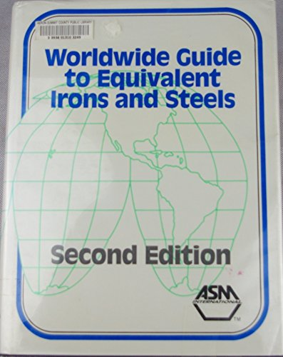 9780871703057: Worldwide guide to equivalent irons and steels