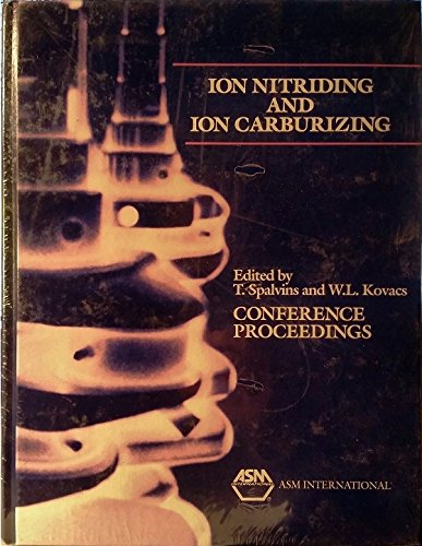 9780871703620: Ion Nitriding and Ion Carburizing: Proceedings