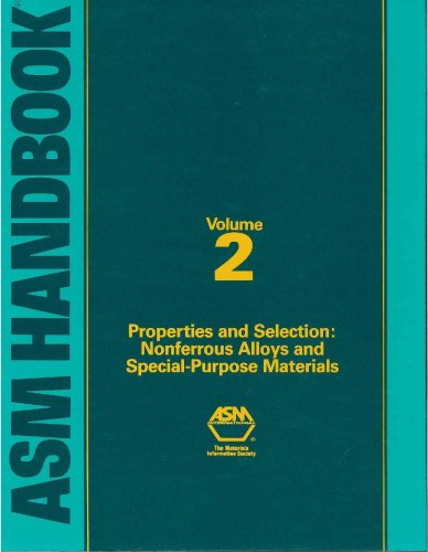 9780871703781: Asm Handbook: Properties and Selection : Nonferrous Alloys and Special-Purpose Materials (Asm Handbook) VOL. 2