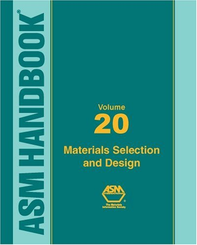 9780871703866: ASM Handbook: Materials Selection and Design, Volume XX