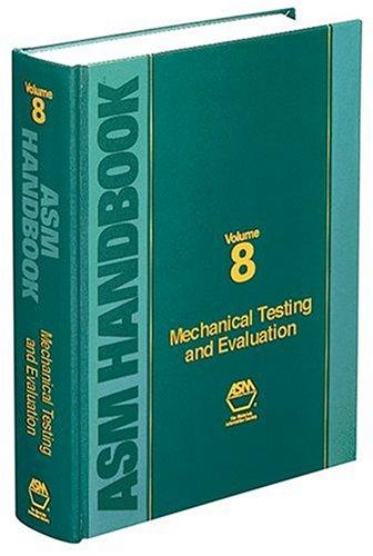 9780871703897: ASM Handbook: Volume 8: Mechanical Testing and Evaluation (Asm Handbook) (Asm Handbook) (Asm Handbook) (Asm Handbook)