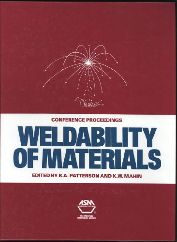 9780871704016: Weldability of Materials: Proceedings of the Materials Weldability Symposium Held in Conjunction With Materials Week, Detroit, Mi. 8-12 October, 1990